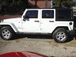 white jeep sahara 2 door denison car dealer sherman tx u0026 denison used cars fred pilkilton