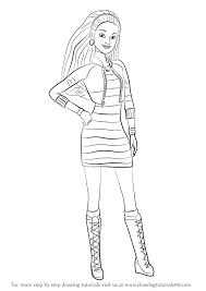learn draw summer barbie dreamhouse