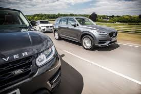 volvo xc90 vs bmw x5 vs range rover sport triple test review 2015