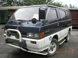 mitsubishi delica for sale used 1990 mitsubishi delica photos 2400cc diesel manual for sale