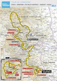 Tour De France Route Map by Video 2017 Tour De Yorkshire Route Unveiled Stage Maps Road Cc