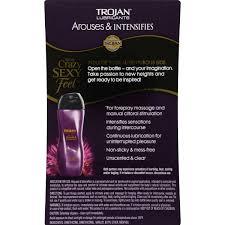trojan lubricants premium collection arouses u0026 intensifies 3 0 fl