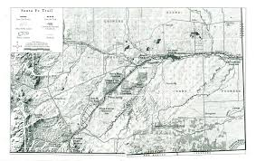 Map Of Colorado Cities by Corridor Management Plan Location And Maps Of The Santa Fe Trail