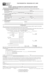 Notice To Terminate Tenancy Sample by Tenant Move Out Notice U2013 Vacating Tenant Notices Ez Landlord Forms