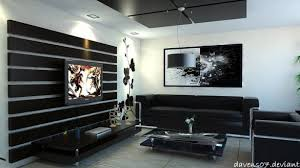 New White  Amazing Modern Living Room Black And White Decor With - Black and white living room design ideas