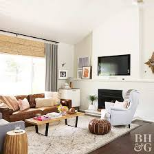 Decorating With Leather Furniture Living Room 5 Ways To Decorate With Leather Furniture