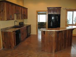 painted kitchen cabinets with wooden doors reclaimed wood kitchen