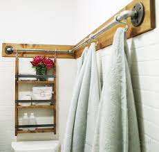 Pipe And Drape Hooks 30 Functional Wall Decor Ideas Galvanized Pipe Ana White And Pipes