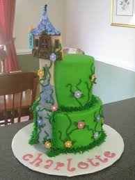 tangled tower cake for charlotte u0027s 5th birthday photo by lcuttino