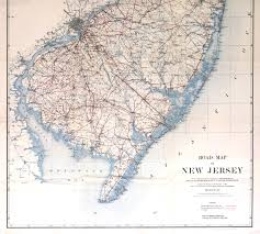 Pennsylvania Railroad Map by New Jersey Historical Maps