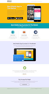 bold unbounce app landing page template by pixfort themeforest