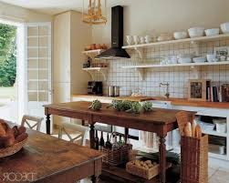 kitchen island instead of table 28 vintage wooden kitchen island designs digsdigs instead of a