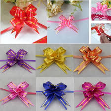 wedding supply aliexpress buy 50pcs pull flower ribbon bow gift wrap candy