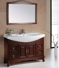 Wood Bathroom Furniture European Style Solid Wood Bathroom Vanity Classic Bathroom Vanity