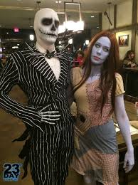 disfraces halloween party city jack and sally halloween costumes