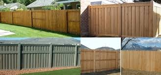 privacy fencing materials fence ideas