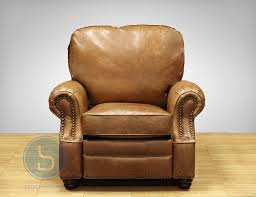 Brown Leather Recliner Chairs Barcalounger Longhorn Ii Leather Recliner Chair