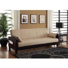 dhp vienna sofa sleeper with 2 pillows multiple colors walmart com