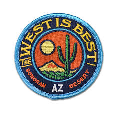 best patch the west is best embroidered patch jon arvizu