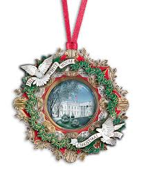 Unique Christmas Ornaments White House Christmas Tree Ornaments Christmas Lights Decoration
