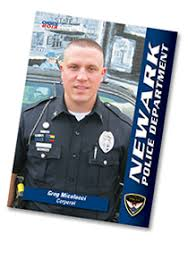 police u0026 firefighter trading card program choice custom cards