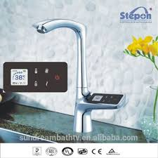electronic kitchen faucets digital water temperature kitchen faucets buy digital