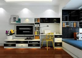 Room With Desk Tv Cabinet And Computer Desk Combination For Bedroom Jpg 1022 725