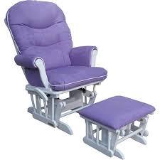 Nursery Glider Chair And Ottoman A Purple Nursery Glider Shermag Richmond Deluxe Sleigh Glider