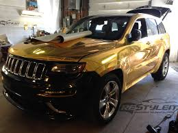 jeep grand cherokee all black 2014 jeep grand cherokee dunked in gold rccrawler