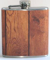 wooden flasks brown barn tree wood country party 6 oz liquor hip flask flasks