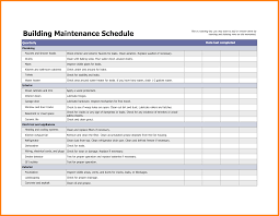apartment awesome apartment preventive maintenance schedule home