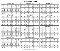 printable calendar page november 2017 2017 calendar 12 months calendar on one page free printable calendar