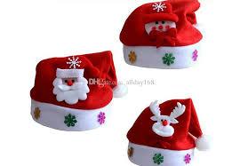 christmas hats for children kids cute santa claus hats christmas