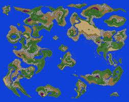 Map Wuest Dragon U0027s Den U003e Dragon Warrior Vii Psx U003e Maps