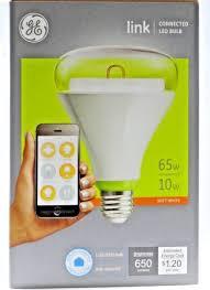 ge link light bulb ge link 65 watt equivalent br30 home led light bulb white ebay
