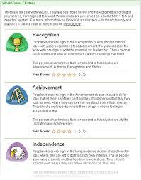 myplan com assessment sample values report