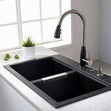 stainless steel pull down kitchen faucet nickel giagni fresco stainless steel 1 handle pull down kitchen