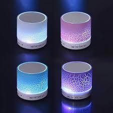 led light bluetooth speaker a9 smart led light mini wireless bluetooth speaker portable