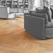 solid parquet flooring floating oak matte finish