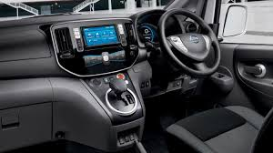 nissan nv2500 interior nissan e nv200 electric van nissan