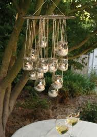 ideen garten gartenideen garten beleuchten leuchter einmachgläser garten