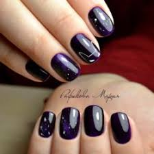 dark purple nails the best images bestartnails com