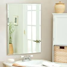 Bathroom Mirrors Brushed Nickel Oval Mirrors For Bathroom Tilt Bath Mirror Brushed Nickel With