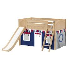 low loft beds u0026 storage beds for kids maxtrix kids