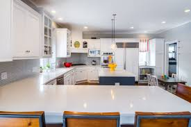Modern Kitchens With White Cabinets Kitchen Backsplash Ideas Black Granite Countertops White Cabinets