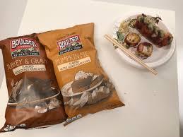 taste test cowfish thanksgiving turkey sushi thanksgiving chips
