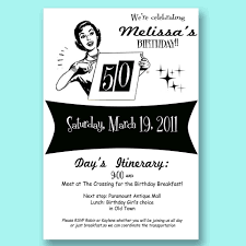 dreaded surprise 50th birthday party invitations you must see