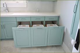 Bathroom Cabinets Built In Awesome Bathroom Cabinet With Built In Laundry Hamper Home Design