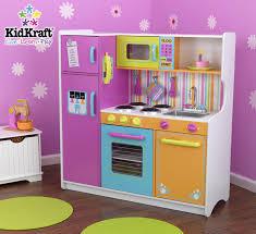 Kidkraft Kitchens Kidkraft Deluxe Big And Bright Kitchen Playset 53100