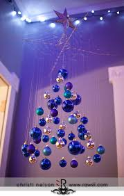 hanging tree made of balls diy ideas